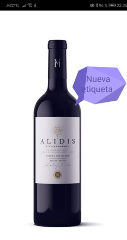 alidis roble Bodega Montferry