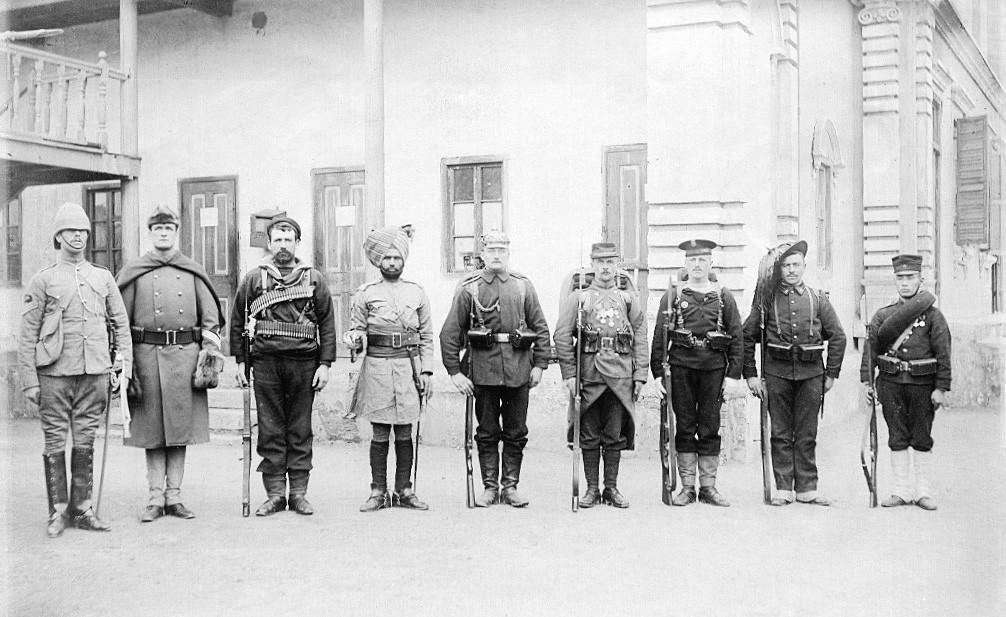 Soldados britanicos