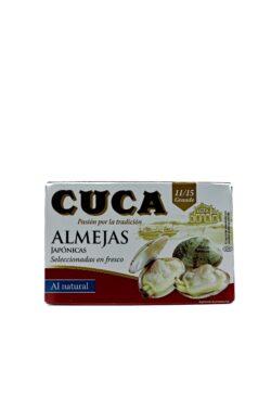 ALMEJAS CUCA 11-15 115g Bodega Montferry